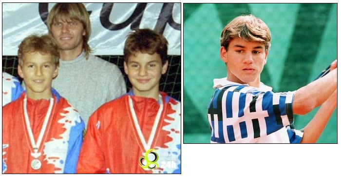 He joined the ITF junior tennis circuit in July 1996. In 1998, his final year as a junior, Federer won the junior Wimbledon title and was recognized as the ITF World Junior Tennis champion of the year. (Wikipedia)