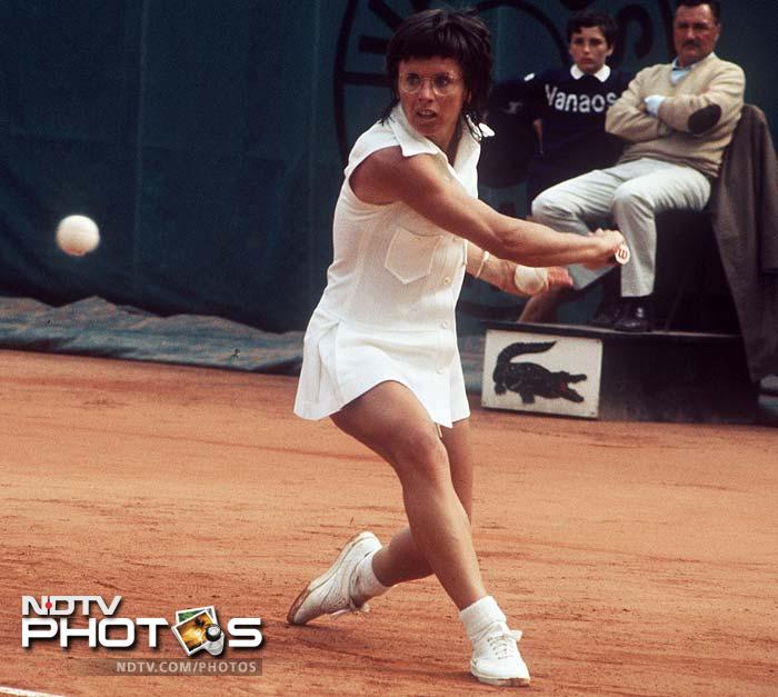 The top 10 list is rounded off by American Billie Jean King. She won 12 Grand Slam singles titles, 16 Grand Slam women's doubles titles, and 11 Grand Slam mixed doubles titles. King is also the founder of the Women's Tennis Association, the Women's Sports Foundation, and owner of World Team Tennis.