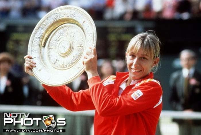 At No. 4 is Martina Navratilova who won 18 Grand Slam singles titles, 31 Grand Slam women's doubles titles (an all-time record), and 10 Grand Slam mixed doubles titles. In addition, she won the season ending WTA Tour Championships a record 8 times and won the doubles title a record 11 times. Navratilova is the only player of either sex to have won eight different tournaments at least seven times.