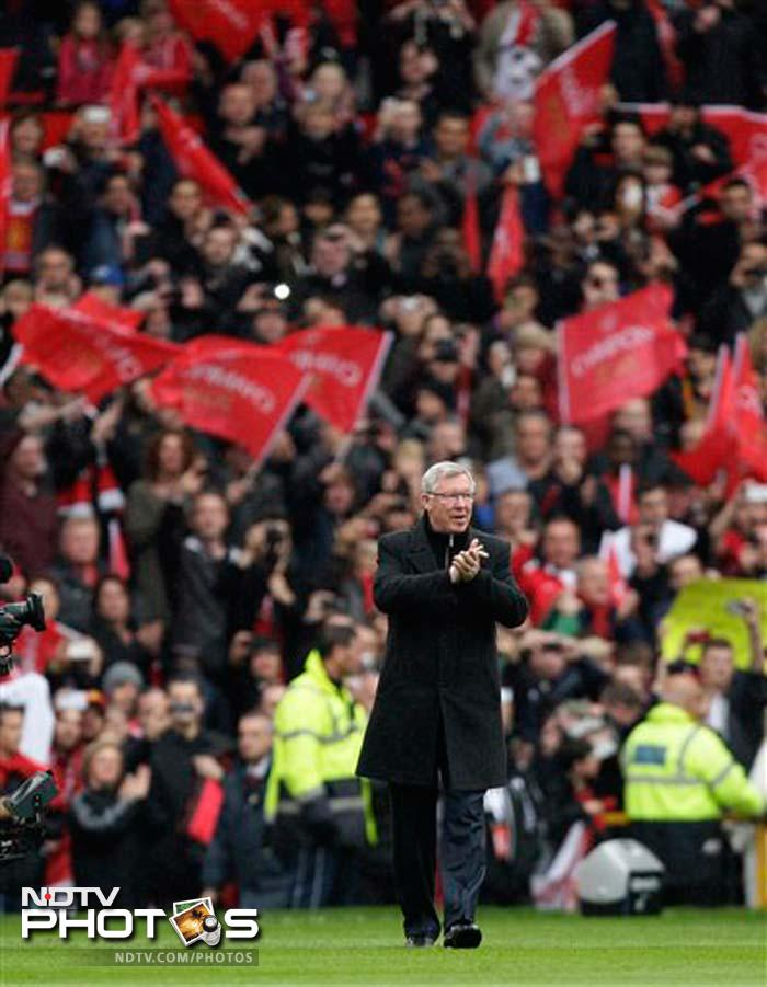 """My retirement doesn't mean the end of my life with the club. I'll be able to enjoy watching them, rather than suffer with them,"" Ferguson said in his farewell speech."