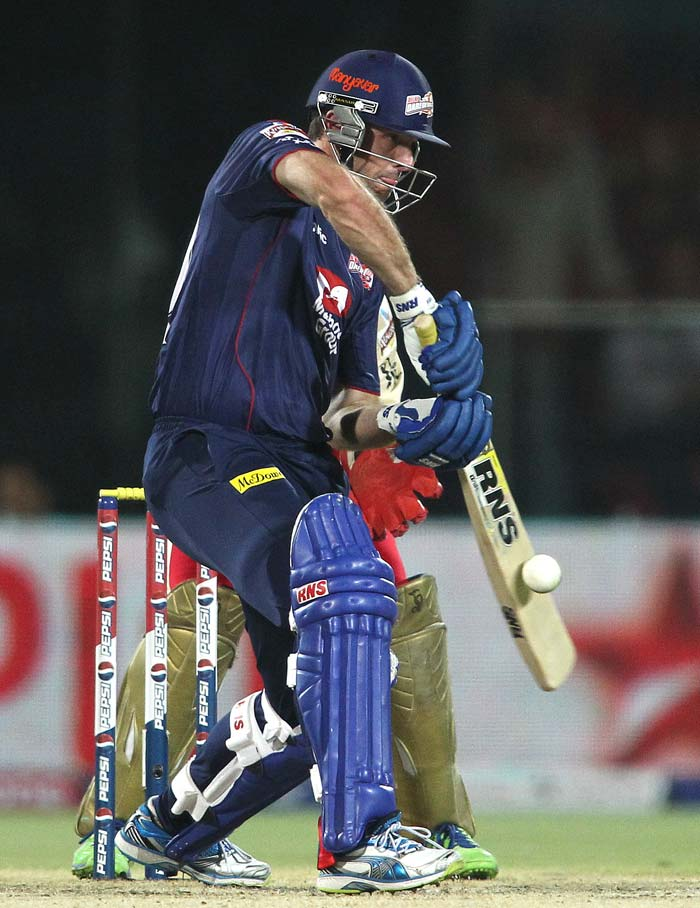 Ben Rohrer played a good hand of 32 as Delhi looked in the hunt. (BCCI Image)