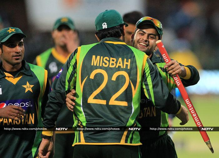 Pakistan scraped home by 1 run to beat South Africa in the second ODI in Port Elizabeth. (AP and AFP)