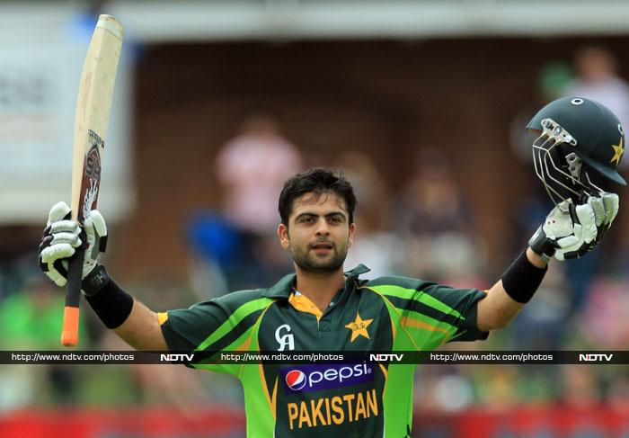 Ahmed Shehzad led the way for Pakistan with 102 off 112 balls.