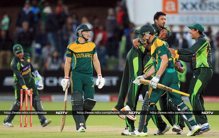 South Africa well just short as Pakistan won by 1 run to take an unassailable 2-0 lead in the series.