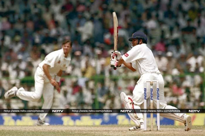 <b>155 not out vs Australia in 1998, 1st Test Chennai, India won by 179 runs </b><br><br>Trailing Australia by 71 runs in the first Test, India were under pressure when Sachin walked in. His 155 not out saw the demolition of the great Shane Warne and the other Aussie bowlers. The knock gave India a huge lead and a convincing win.