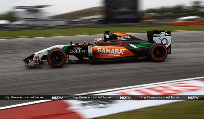 Nico Hulkenberg ensured that Force India had one driver in the top ten by finishing seventh.