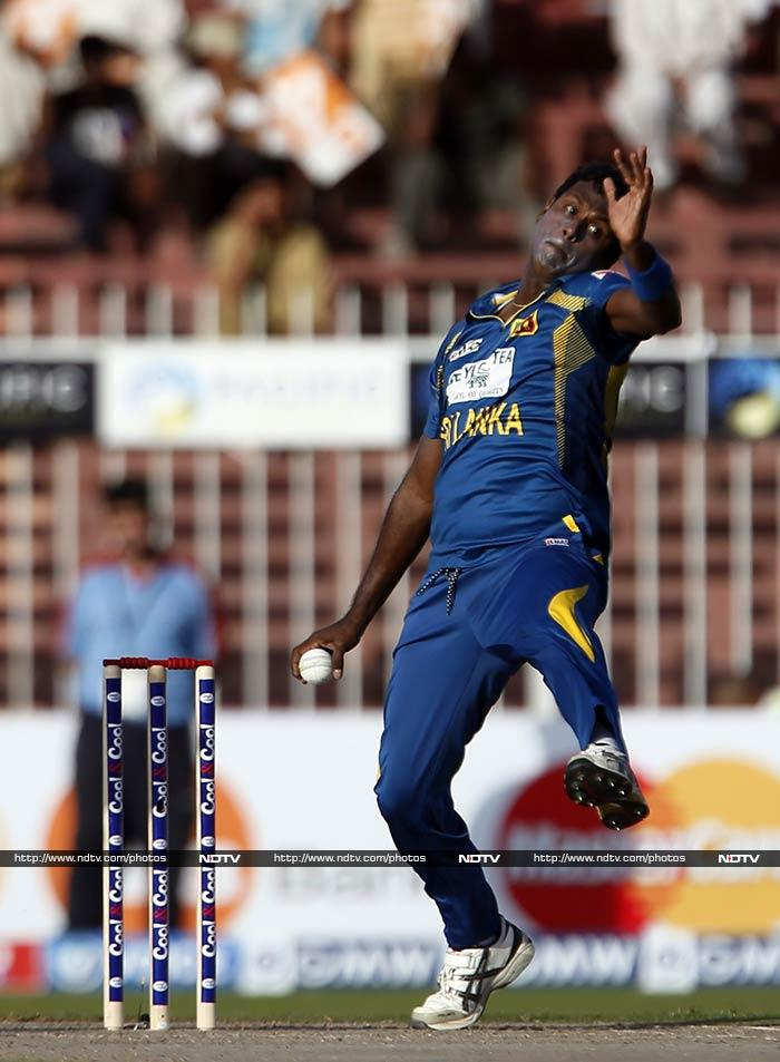 Angelo Mathews will look to lead by example as he takes wickets and scores runs consistently for Sri Lanka.
