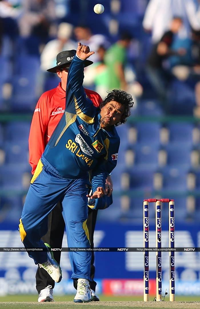 Apart from being an explosive opener, Tillakaratne Dilshan is more than useful bowler for the Lankans. Not only does he keep the runs down, but he also takes crucial wickets.