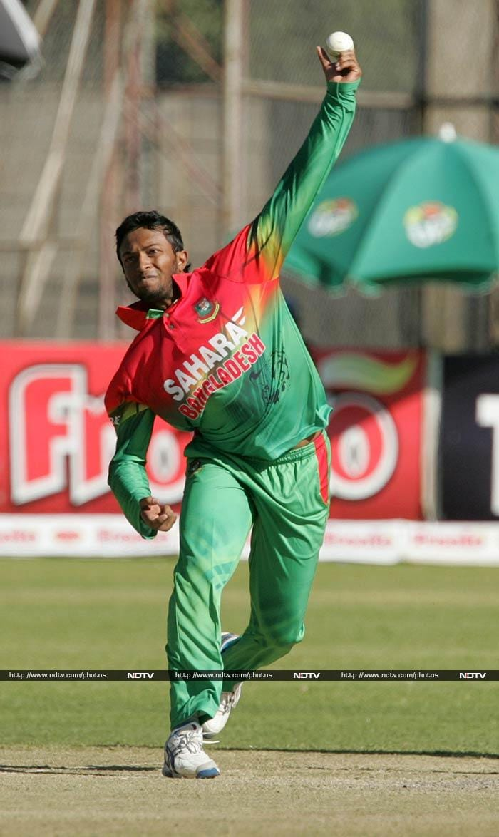 Shakib Al Hasan's variations are lethal on slow low pitches and as a batsman he can decimate an attack on his day.