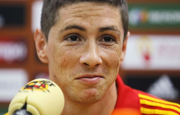 Liverpool forward Fernando Torres has seen injuries blight his season and Spain will hope their star forward can make a full recovery following knee surgery and get match sharpness back in time to spearhead his country's attack at the World Cup.<br/><br/> Torres scored the winning goal in Spain's Euro 2008 final win over Germany to help his country lift a first major honour since 1964 and confirm his status as one of the most deadly strikers on the planet.<br/><br/> However, his build-up to the South Africa showpiece has been ruined by injuries and he has not played since injuring his knee in the Europa League match against Benfica on April 8.(AP PHOTO)