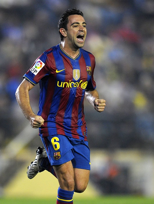 Regarded as the conductor of the orchestra for club and country, midfielder Xavi Hernandez is often an unsung hero for Barcelona and Spain.<br/><br/> His importance cannot be underestimated with his simple, yet highly effective, passing crucial to make Spain tick and he will have to be at his best if the European champions are to go all the way at the 2010 World Cup finals.(AFP PHOTO)