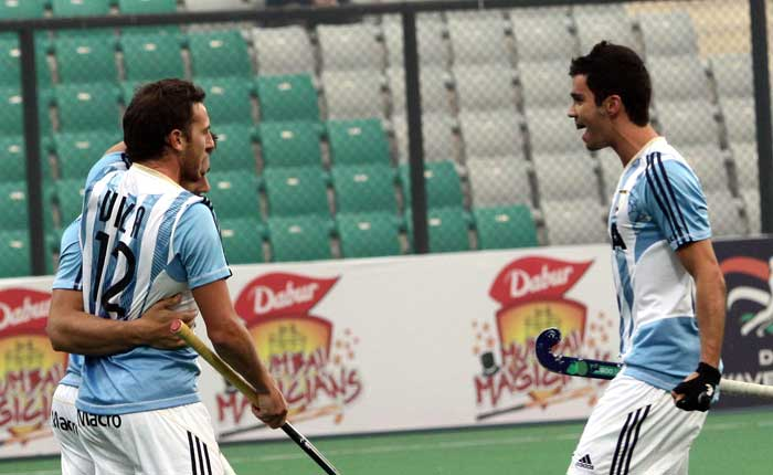 World No.11 Argentina caused a huge upset by defeating three-time world champions Netherlands 5-2.