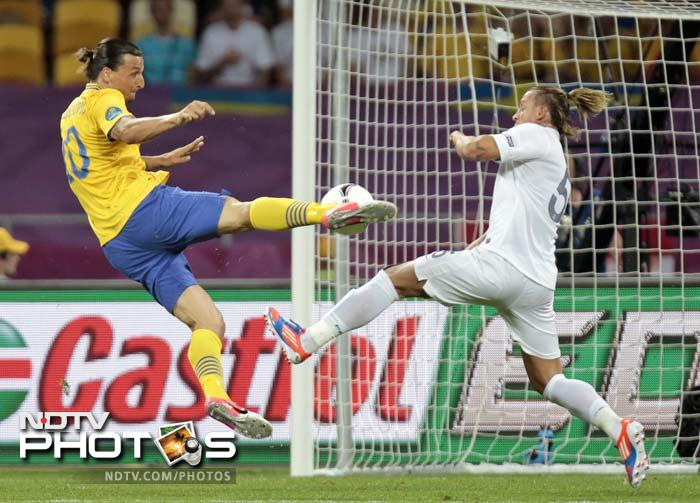Zlatan Ibrahimovic : There is no point watching the World Cup because Ibrahimovic won't be playing in it - at least that's what he says. While the striker has always been his own biggest fan, he does have a point that the tournament will not be as exciting without him. The 32-year-old is in the best form of his career and has shown his full repertoire of spectacular goals: Martial arts-style volleys, overhead kicks from 30 meters out, dipping shots from all angles.