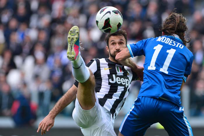 """Coach Antonio Conte was not too pleased with Vucinic's reaction but the player had gained confidence apparently when he scored another goal. Coach Conte, after the match, said: """"I told Vucinic he had a terrible game and still scored two goals… Imagine what he would've done if he had played well."""""""