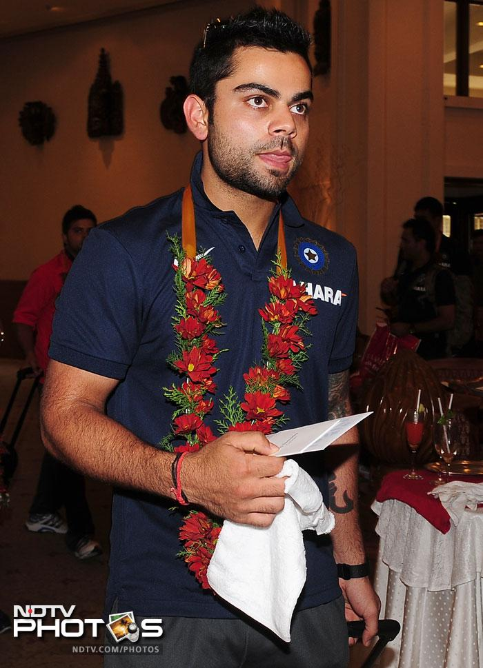 <b>4. </b> Youngster and probably India's best one-day international player on form, Virat Kohli, is fourth on the list, already. He has total earnings worth USD 71 lakh.