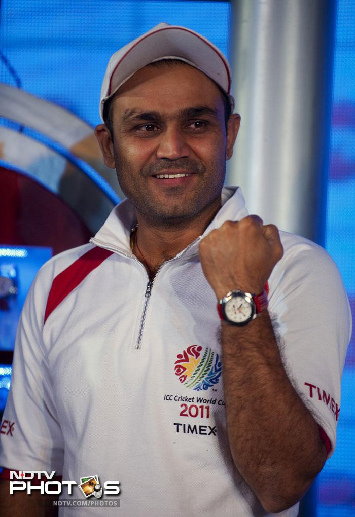 <b> 5. </b> Virender Sehwag may have been on the look out for form on the field, off the field he is doing pretty well. His total earnings according to the magazine are USD 69 lakh.