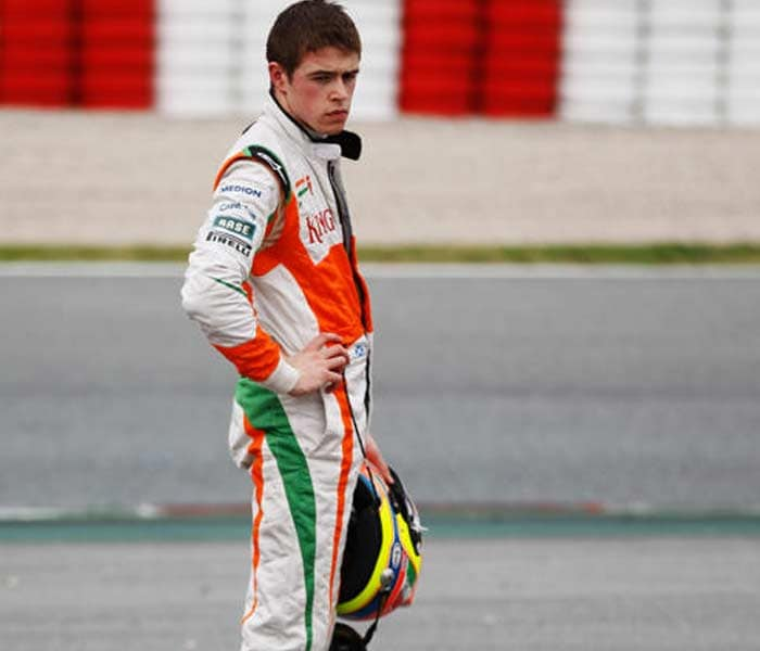 Di Resta makes his F1 debut as Luizzi's indifferent show wins the Briton a promotion from the test driver's role. (Getty Images)