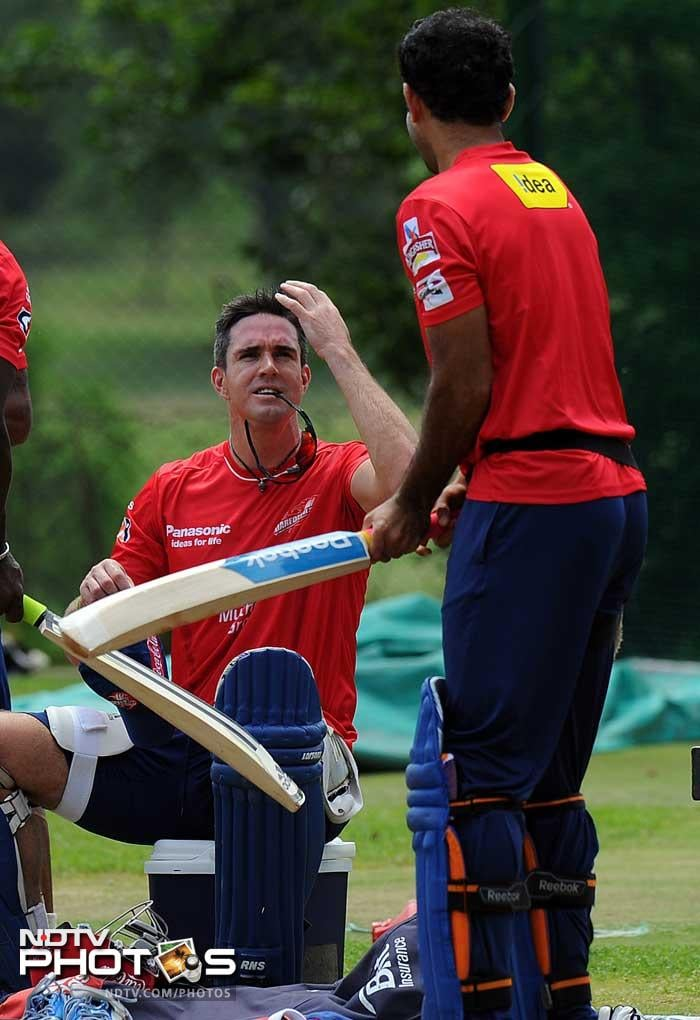 After his stint as an analyst on the television during the World T20, Kevin Pietersen seemed much relaxed to return to where he belongs with the bat.