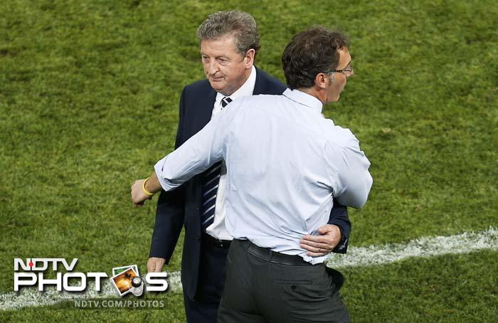 France came from behind to force a 1-1 draw with England on Monday as a cagey Euro 2012 opener between the Group D rivals ended in a stalemate. (All AFP and AP Images)