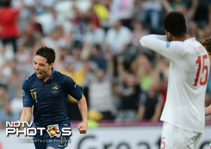 Lescott's City team-mate Samir Nasri struck back with a 39th-minute equaliser, lashing a low shot from outside the area to give France a share of the points and extend Les Bleus' unbeaten run to 22 games.