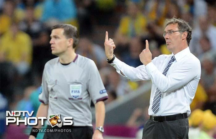 """""""Tonight I really enjoyed watching France play,"""" said France coach Laurent Blanc after the match."""