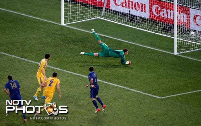 Jeremy Menez, selected ahead of Florent Malouda, put the French 1-0 up on 53 minutes, silencing the home fans.