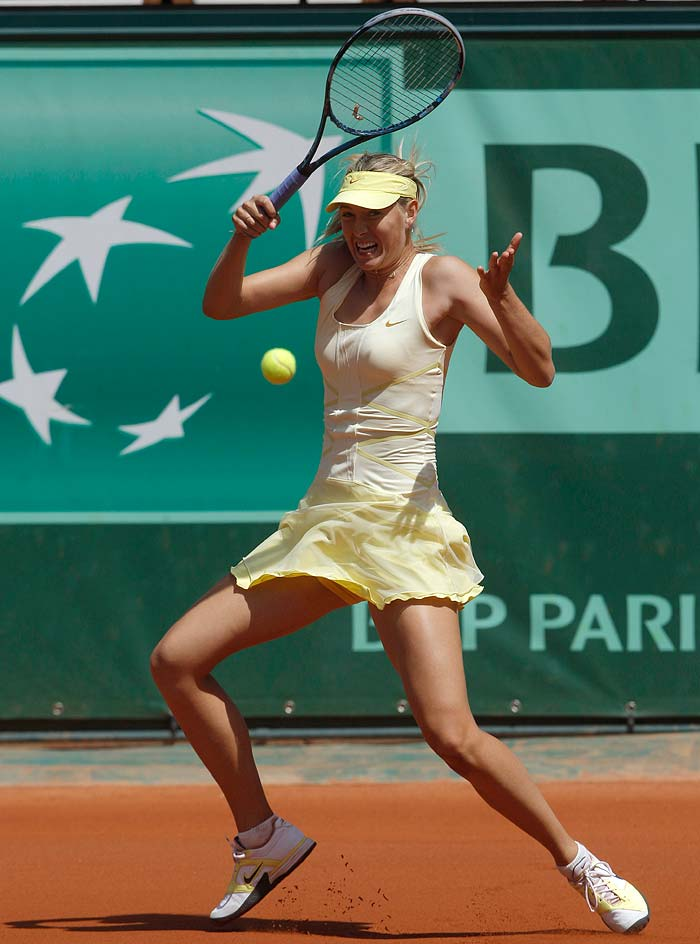 Maria Sharapova though had no such problems as she cruised into the second round courtesy a 6-3, 6-0 win against Croatia's Mirjana Lucic.