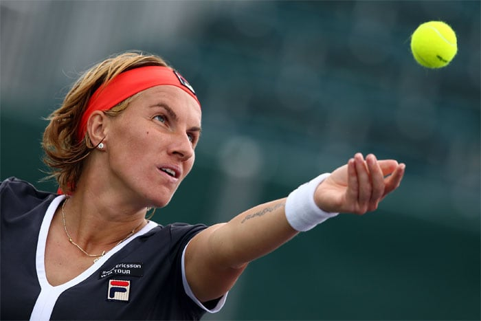 """<b>SVETLANA KUZNETSOVA</b> (RUSSIA)<br/><br/> <b>World ranking</b>: 6<br/> <b>Birthdate</b>: June 27, 1985<br/> <b>Birthplace</b>: St Petersburg, Russia<br/> <b>Residence</b>: Monte Carlo, Monaco<br/> <b>Height</b>: 5'8"""" (174 cm)<br/> <b>Weight</b>: 161 lbs (73 kg)<br/> <b>Plays</b>: Right-handed (two-handed backhand)<br/> <b>Turned pro</b>: 2000<br/> <b>Career singles titles</b>: 12<br/> <b>Grand Slam singles titles</b>: 2<br/> <b>Career prize money</b>: 13,992,961<br/> <b>Best French Open result</b>: Winner (2010)<br/> - A skilled claycourt operator, Kuznetsova stole in to win in Paris last year - her second Grand Slam title defeating then world number one Dinara Safina in a one-sided final. So far this year though she has struggled and has won just four matches in her past five tournaments. Hoping that her return to Paris can kickstart her game and make her a contender once again."""