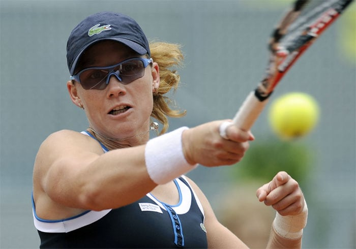 """<b>SAMANTHA STOSUR</b> (AUSTRALIA)<br/><br/> <b>World ranking</b>: 7<br/> <b>Birthdate</b>: March 30, 1984<br/> <b>Birthplace</b>: Brisbane, Australia<br/> <b>Residence</b>: Gold Coast, Australia<br/> <b>Height</b>: 5'8"""" (1.72 m)<br/> <b>Weight</b>: 143 lbs. (65 kg)<br/> <b>Plays</b>: Right-handed (two-handed backhand)<br/> <b>Turned pro</b>: 1999<br/> <b>Career singles titles</b>: 2<br/> <b>Grand Slam singles titles</b>: 0<br/> <b>Career prize money</b>: 4,998,332 dollars<br/> <b>Best French Open result</b>: Semi-final (2009)<br/> - Has made outstanding progress in the last year to break into the world top 10 for the first time including an unexpected run into the semi-finals in Paris last year. Super-fit and possessing an excellent serve and volley game thanks to her extensive doubles experience, Stosur has been in fine form recently reaching the final in Stuttgart."""
