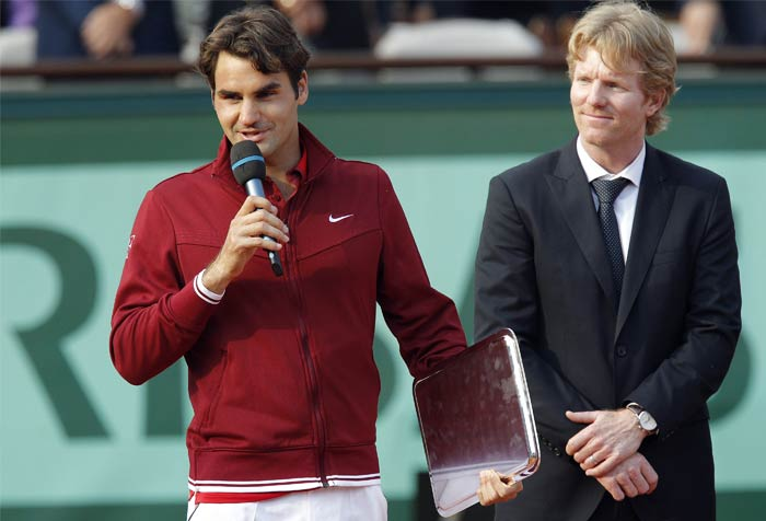 Federer's dream of adding to his 16 Grand Slam titles also came tumbling down and his only victory here remained when he did not have to face Nadal in 2009.
