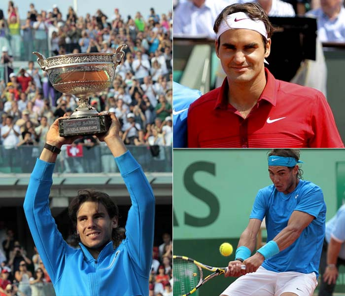 They played hard, fought harder. As the old saying goes however, clay is King Nadal's domain. A look at the final match between Nadal and Roger Federer (Images: AP and AFP)