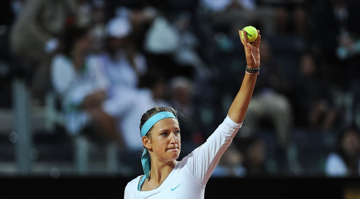 Many believe the powerful baseliner from Belarus to be ready to win a Grand Slam title and she is up to a career best fourth in the world rankings after tournament wins at Indian Wells and Marbella. But there remain question marks over her volatile temperament and she was forced to retire in her last tournament in Rome with a injury to her right elbow.<br><br>Azarenka has so far won 7 singles titles and her best at the French Open was a quarter-final finish in 2009.