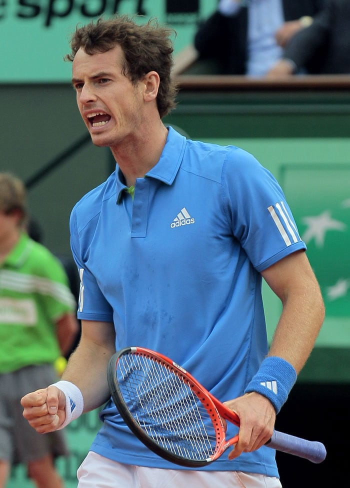 Andy Murray registered a straight sets win against Italy's Simone Bolelli. (AFP Photo)