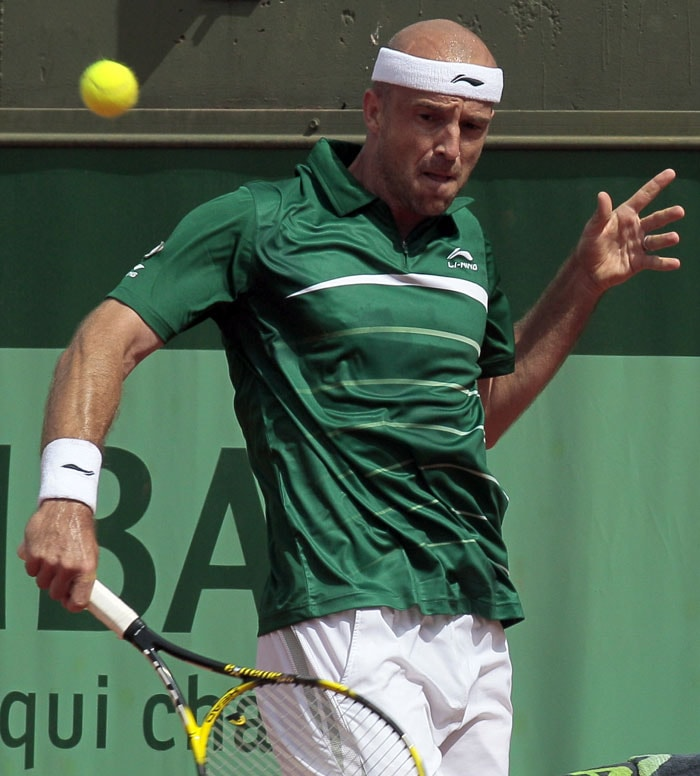 Ivan Ljubicic defeated 24th seed Sam Querrey in straight sets 7-5, 6-4, 6-4. (AFP Photo)