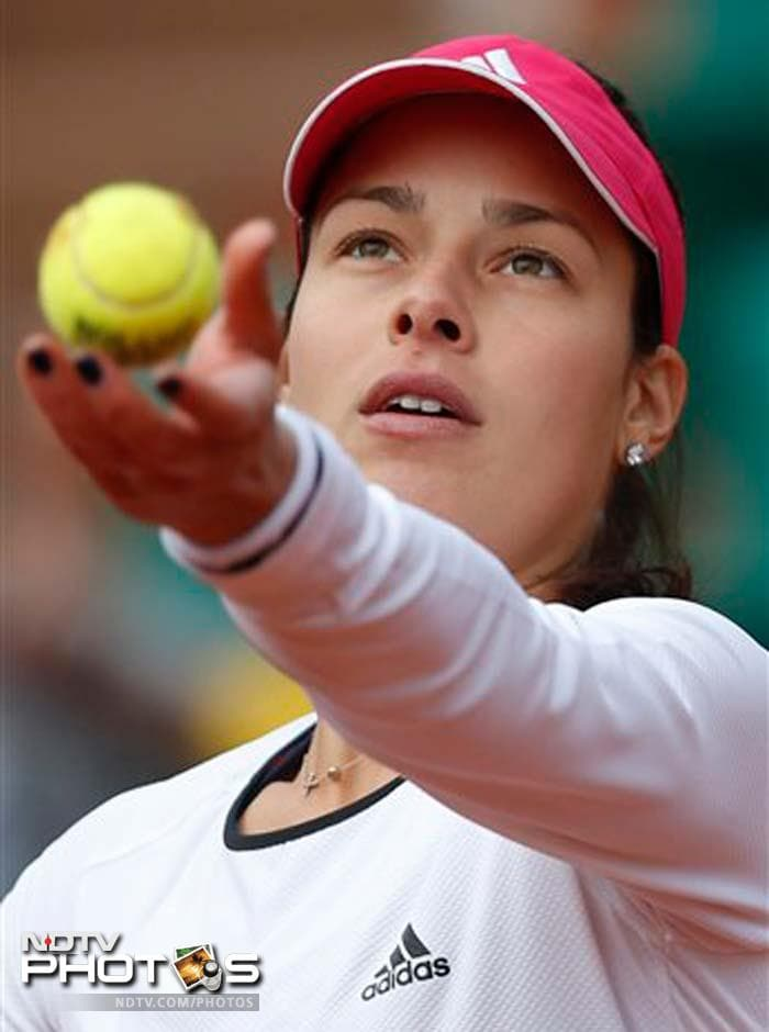 14th seed Ana Ivanovic of Serbia registered a mauling victory over Mathilde Johansson of French to make the last 32 at Roland Garros