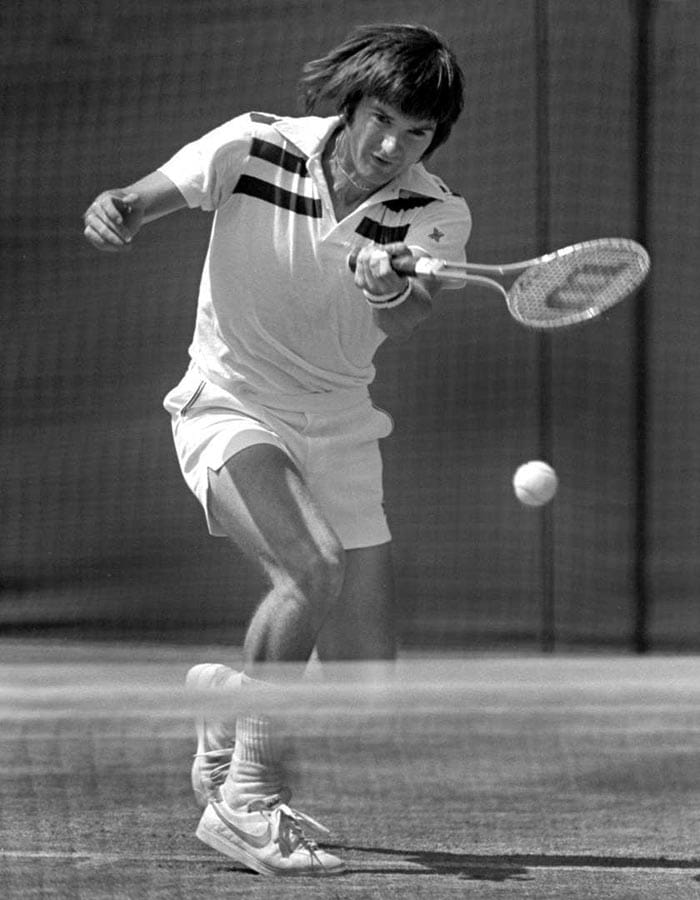 <b>Jimmy Connors</b><br><br> Jimmy Connors is another American amongst the players who struggled at the French Open. Connors, who won 8 grand slam titles, never managed to find his way past the semi final stage at Roland Garros.