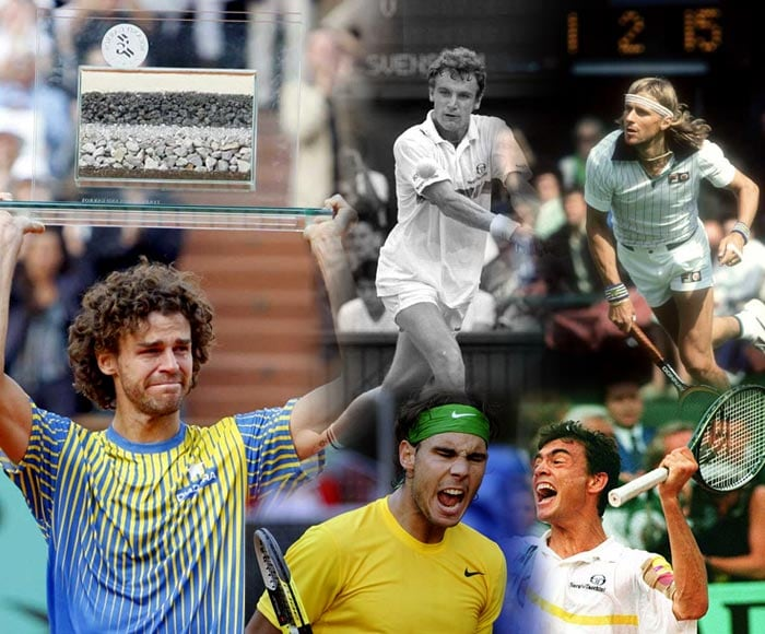 The French Open is believed to be the most unique Grand Slam tournament. Over the past few years, it has created a reputation of creating some unexpected champions at the expense of some of tennis' greats. Here are the few who made their presence count on the clay court.