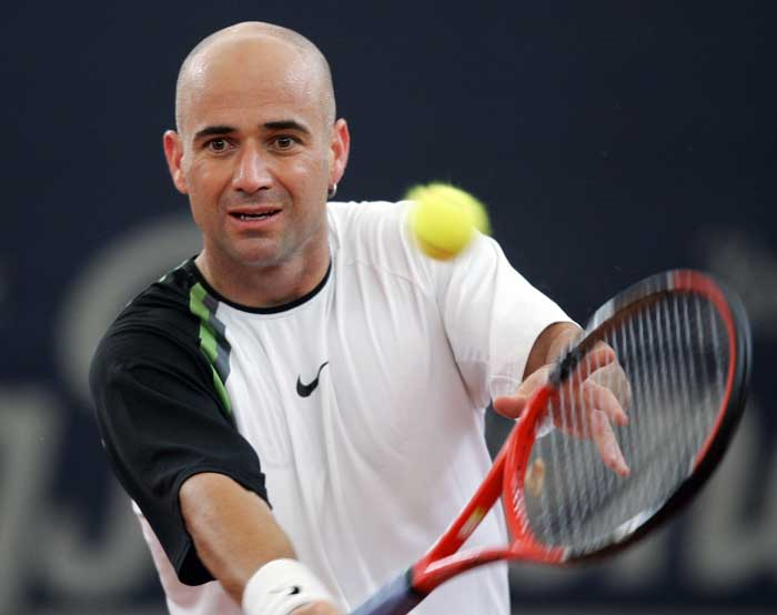 <b>Andre Agassi</b><br><br> Andre Agassi's story at the French Open was quite similar to that of Roger Federer. The American lost out twice in the final until finally winning the Roland Garros title in 1999. Like Federer, Agassi too achieved his Career Grand Slam after the capturing the long yearned French Open.