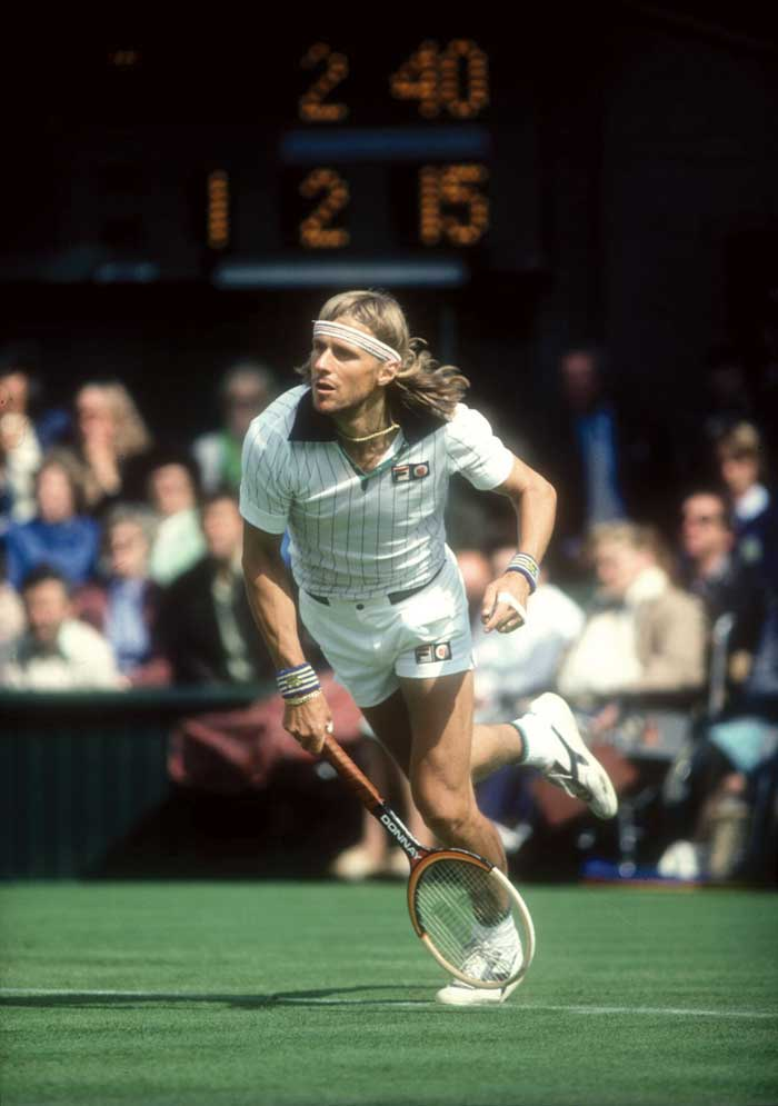 <b>Bjorn Borg</b><br><br> Bjorn Borg was one of the few players who felt at home in the French Open. His powerful ground strokes and incredible fitness allowed him to win points easily from the baseline. The Swede won 6 French Open titles in 8 years and continues to hold the maximum number of titles under his belt.