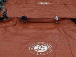 Rain Plays Havoc, First French Open Washout In 16 Years