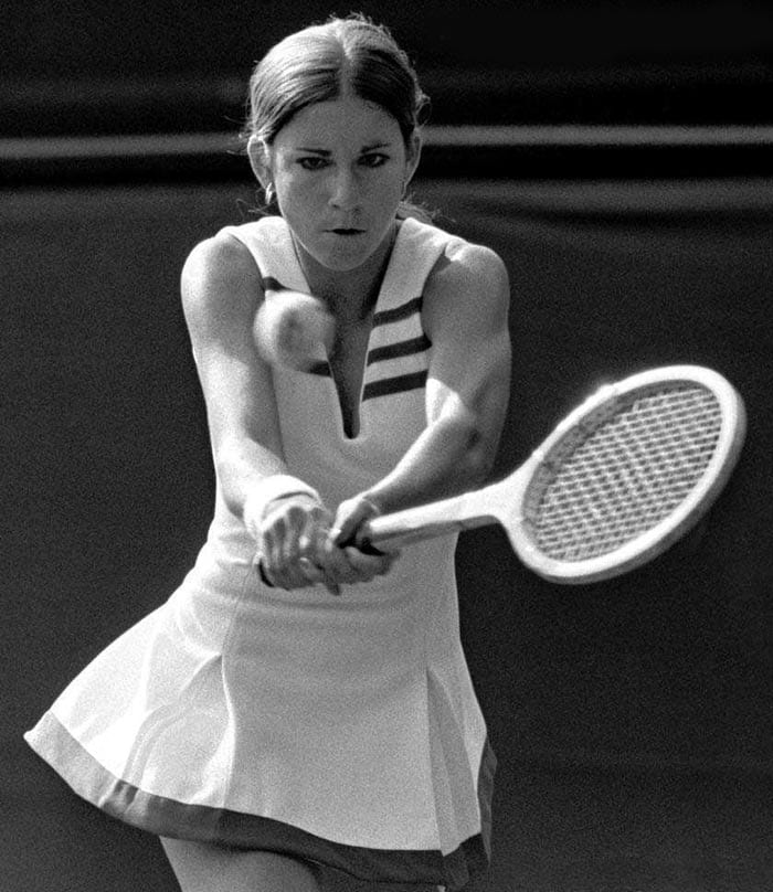<b>Chris Evert</b><br><br> Chris Evert has been the most successful player in the history of the French Open. Her seven titles, which were distributed over 13 years remain a record on the clay court. Evert's career win–loss record in singles matches of 1,309–146 (.900) is the best of any professional player in tennis history.