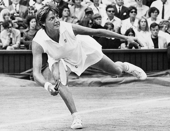 <b>Margaret Court</b><br><br> The transition from the French Championships to the French Open did not carry over many significant performers, but Margaret Court's form remain untouched as the Australian won two French Open titles. Her second win came against Chris Evert in an epic 3-setter.