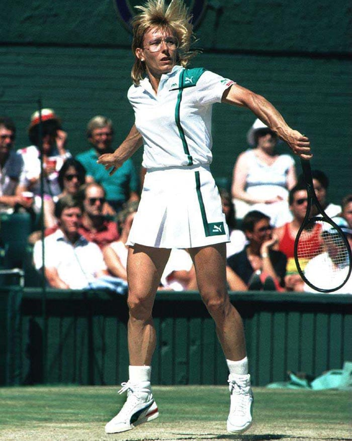 <b>Martina Navratilova</b><br><br> The winds of time never perturbed this Czechoslovakia born tennis player who lived through a lusturous three-decade long tennis career. Navratilova reached 6 French Open finals, winning 2 of them. Her toughest competitor was Chris Evert as Navratilova lost the final thrice to her, while beating her once in the 1984 edition.