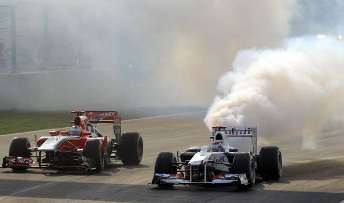 It is clear then that just as the world of Formula 1 racing is getting acquainted with India, so is India trying hard to embrace the world of F1 racing.