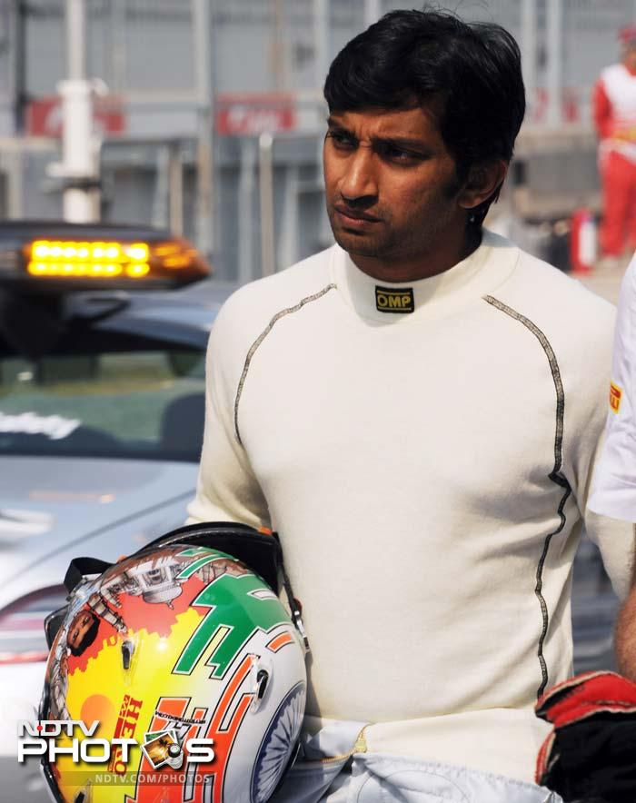 A reader on the blog again: <b> Kobayashi crashes out. Well, at least Narain Karthikeyan won't finish last.</b> The Indian finished 17th.