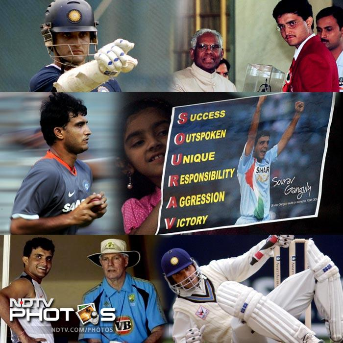Sourav Ganguly has had his share of ups and downs, typical of the life of any cricketer, but what has separated him and his now 43 years from that of others is the sheer belief in himself to perform beyond human capabilities. <br><br>A natural stroke player who dedicated every bit of himself in gathering a team out of the bits and pieces that he was provided with, turned out to be India's guiding light in arguably their toughest spell.<br><br> Here is a look at one of the greatest journeys in world cricket.