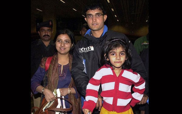 Ganguly married his childhood sweetheart Dona and the two had a daughter; Sana. But with success mounting, Ganguly was guilty on several occasions of having no time for his family.