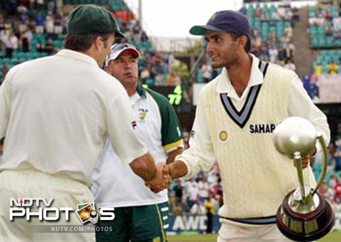 In Australia's 2001 Indian tour, Sourav Ganguly tainted his image to some extent. In one instance, while the scheduled toss was supposed to take place, Ganguly made opposition captain Steve Waugh wait for him in the middle. Ganguly however, later justified that the delay was not intended and said that he was late because his coat was not ready.