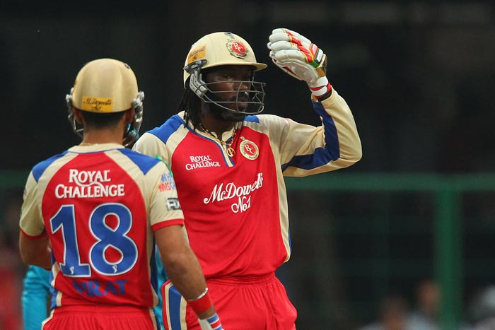 Fellow Jamaican athletes Usain Bolt and Yohan Blake too could not hide their excitement.<br><br>Masterful performance @henrygayle, wrote Bolt while Blake tweeted: O my wow gayle what can I say @henrygayle my o my #RCB #IPL (BCCI image)