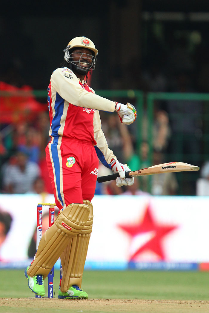 Former South African great, who would have loved to bowl at him in this mood, Shaun Pollock, too was in awe of the West Indian. <br> Shaun Pollock @7polly715h Seriously amazing innings by Chris Gayle, 175 of 66 balls! Who would have thought that was possible a few years back! #feelforthebowlers (BCCI Image)